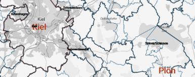 Gebietsgliederung Schleswig Holstein Statistikamt Nord