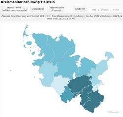 Schleswig Holstein Karte.Regionalstatistische Datenangebote Für Schleswig Holstein